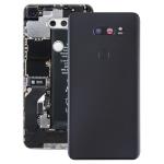 Battery Back Cover with Camera Lens & Fingerprint Sensor for LG V30+ / VS996 / LS998U / H933 / LS998U / H930(Black)
