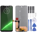 LCD Screen and Digitizer Full Assembly for Motorola Moto G7 Plus (Black)
