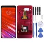 LCD Screen and Digitizer Full Assembly with Frame for Lenovo Z5 PRO GT L78032 (Black)