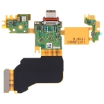 Original Charging Port Flex Cable + Microphone Flex Cable for Sony Xperia 1