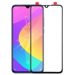Front Screen Outer Glass Lens for Xiaomi Mi CC9 (Black)