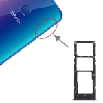 SIM Card Tray + SIM Card Tray + Micro SD Card Tray for Tenco Infinix X627 Smart 3 Plus (Blue)