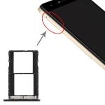 SIM Card Tray + SIM Card Tray for Tenco Spark Plus K9 (Black)