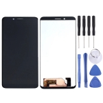 LCD Screen and Digitizer Full Assembly for Blackview BV6100 (Black)