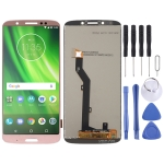 LCD Screen and Digitizer Full Assembly for Motorola Moto G6 Play (Pink)