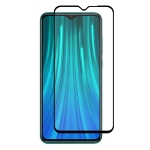 ENKAY Hat-prince Full Glue 0.26mm 9H 2.5D Tempered Glass Full Coverage Film for Xiaomi Redmi Note 8 Pro