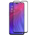 ENKAY Hat-prince Full Glue 0.26mm 9H 2.5D Tempered Glass Full Coverage Film for OPPO Reno Z / Realme X Lite / R17