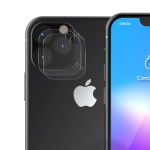 2 PCS ENKAY Hat-Prince 0.2mm 9H 2.15D Round Edge Rear Camera Lens Tempered Glass Film for iPhone XI Max 2019