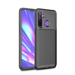 For Xiaomi Redmi Note 8 Carbon Fiber Texture Shockproof TPU Case(Black)