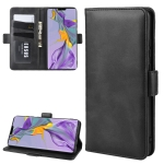 For Huawei Mate 30 Wallet Stand Leather Cell Phone Case with Wallet & Holder & Card Slots(Black)