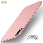 For Galaxy A50 MOFI Frosted PC Ultra-thin Hard Case(Rose gold)