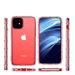 For iPhone 11 Four-Side Air Pressure Drop-Proof Thick Transparent TPU Phone Case(Transparent)