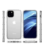 For iPhone 11 Pro Max Four-Side Air Pressure Drop-Proof Thick Transparent TPU Phone Case(Transparent)