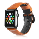 Suitable For Apple Watch 3 / 2 / 1 Generation  42mm Universal Tree Leather Strap(Brown)