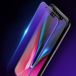 For iPhone 11 Pro Max / XS Max mocolo 0.33mm 9H 2.5D Full Glue Anti Blue-ray Tempered Glass Film