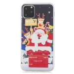 For iPhone 11 Pro Max Christmas gift TPU case(Santa Claus)