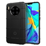 For Huawei Mate 30 Pro Full Coverage Shockproof TPU Case(Black)