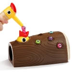 Wooden Magnet Bird Catching Bug Game Preschool Toy
