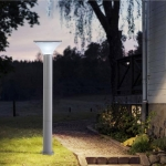 Outdoor Waterproof Light Control Induction Solar Garden Light, Dimensions: H800mm Square