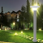 Outdoor Waterproof Light Control Induction Solar Garden Light, Dimensions: H800mm Round