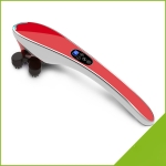 Multifunctional Electric Body Massage Stick Electric Cervical Massager, Size:49×14.5×9.9cm(Red)