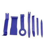 7 PCS Car Audio Conversion Tool DVD Audio Door Panel Disassembly Instrument Panel Disassemble Set Tool(Blue)