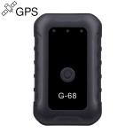 G-68 Mini Magnet Global Intelligent Monitoring System WiFi + GSM + LBS + GPRS GPS Tracker Locator(Black)