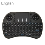 Support Language: English i8 Air Mouse Wireless Keyboard with Touchpad for Android TV Box & Smart TV & PC Tablet & Xbox360 & PS3 & HTPC/IPTV