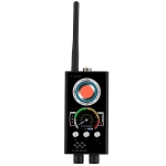 T-9000 RF Detector Signal Laser Lens GSM Listening Device Finder Radar Radio Scanner (Black)