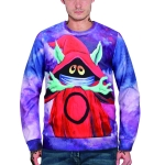 3D Printed Crew Neck Sweater for Men (Color:WY3012 Size:XXL)