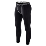 SIGETU Men Plus Velvet Sport Quick-drying Trousers (Color:Black Size:M)