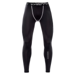 SIGETU Men Elastic Quick-drying Sports Leggings (Color:Black Size:XL)