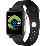 B71 1.3 inch Color Screen IP67 Waterproof Smart Watch,Support Message Reminder / Heart Rate Monitor / Blood Oxygen Monitoring / Blood Pressure Monitoring/ Sleeping Monitoring (Black)