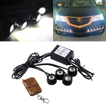 4×1.5W Car LED Reversing Light with Wireless Remote Control
