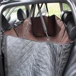 Nonslip Folding Waterproof Car Rear Seat Cover Pet Cat Dog Cushion Mat, Size: 148 x 140 x 45cm