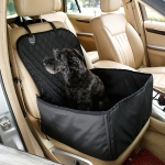 Nonslip Folding Waterproof Car Vice Driving Seat Cover Pet Cat Dog Cushion Mat, Size: 48 x 47 x 57cm (Black)