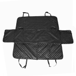 Nonslip Folding Waterproof Car Rear Seat Cover Pet Cat Dog Cushion Mat, Size: 147 x 137 x 37cm