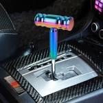 Universal Car Colorful T-shaped Gear Head Gear Shift Knob