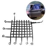 Universal Nylon Car Window Net Car Rally Racing Safety Collision Mesh, Size: 60 x 50cm(Black)