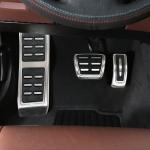 3 in 1 Non-Slip Manual Gear Car Pedals Foot Brake Pad Cover Set for Porsche Macan 2019