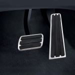 2 in 1 Non-Slip Car Pedals Foot Brake Pad Cover Set for Porsche Panamera 2010-2019