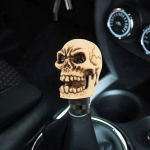 Universal Car Skull Shape Shifter Manual Automatic Gear Shift Knob