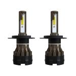 2 PCS KINGSOFE H4 / HB2 / 9003  DC9-36V / 18W / 6000K / 2000LM IP68 Car LED Headlight Lamps