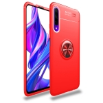 For Huawei Honor 9X / 9X Pro Lenuo Shockproof TPU Case with Invisible Holder(Red)