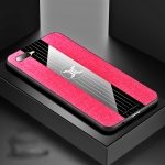 For OPPO K1 / R15X XINLI Stitching Cloth Textue Shockproof TPU Protective Case(Red)