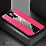 For OPPO R17 PRO XINLI Stitching Cloth Textue Shockproof TPU Protective Case(Red)