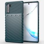 For Galaxy Note 10 Thunderbolt Shockproof TPU Soft Case(Dark Green)