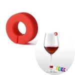 Original Xiaomi Circle Joy Iridescent Identification Ring Wine Glass Cup Markers