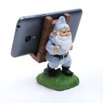 Keepwood KW-0111C Santa Claus Dwarf Shape Creative Desktop Mobile Phone Holder Bracket