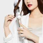 Original Xiaomi WX-FT09 Wellskins 4 in 1 Hot Air Comb Kit Negative Ion Hair Style Straighten Curl Hair Brush Hair Dryer,CN Plug